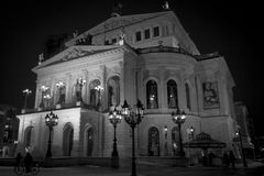 Оперный театр Франкфурта Стоковое Фото