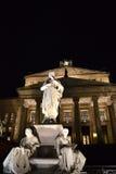 Оперный театр - Gendarmenmarkt, Берлин Стоковые Фото