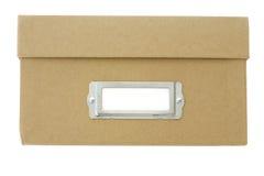опиловка коробки Стоковая Фотография