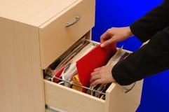 опиловка шкафа Стоковое Фото