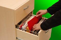 опиловка шкафа Стоковая Фотография