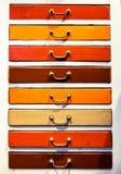 опиловка шкафа старая Стоковая Фотография RF