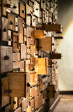 опиловка шкафа старая Стоковые Изображения