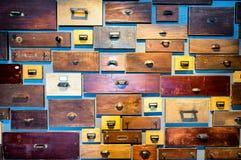 опиловка шкафа старая Стоковое Изображение RF