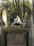 оплакивая статуи Стоковая Фотография