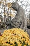 Оплакивая статуя Стоковая Фотография RF