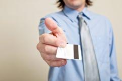 оплачивать кредита карточки Стоковое Изображение RF