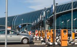 оплащенная стоянка автомобилей Стоковые Фото