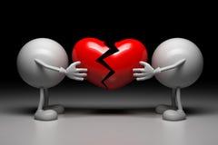 Опознавание влюбленности Стоковая Фотография