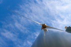 Опора генератора ветротурбины Стоковая Фотография RF