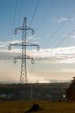 опора электричества Стоковая Фотография