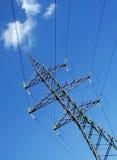 опора электричества Стоковое фото RF