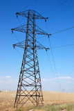 опора электричества Стоковое Изображение RF