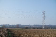 Опора электричества/башня передачи Стоковые Фотографии RF
