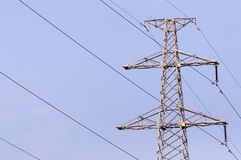 Опора электричества Стоковые Изображения RF