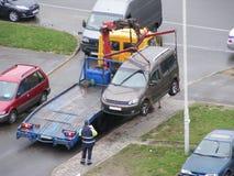 Опорожнение автомобиля стоковые изображения rf
