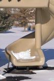опорожните зиму скольжения Стоковые Изображения RF