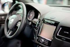 Навигация автомобиля Стоковое Изображение RF