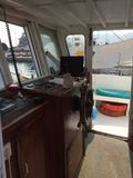 Опорожните кабину ` s капитана стоковое изображение rf