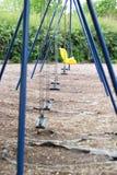 Опорожните качания в парке Стоковые Фотографии RF