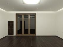опорожните комнату иллюстрация вектора