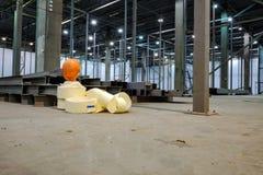 Опорожните магазин внутри фабрики Стоковое фото RF