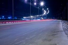 Опорожните поворот дороги Стоковые Фото