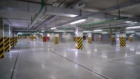 Опорожните подземный гараж акции видеоматериалы