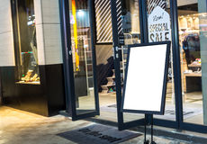 Опорожните подпишите внутри улицу Стоковая Фотография