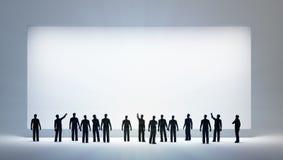 опорожните смотреть людей малюсенькие Стоковое Изображение RF