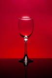 опорожните стеклянное вино Стоковые Изображения