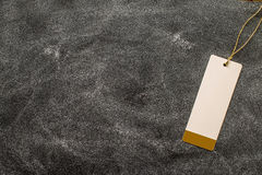 Опорожните ярлык на доске с космосом экземпляра Стоковое Изображение