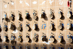 17 опорожняют в таблице Стоковое Изображение