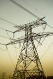 опоры электричества Стоковое фото RF