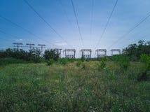 опоры 91-Electricity стоковое изображение