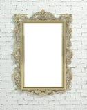 дополнительный иллюстратор золота рамки формы eps самана включает Стоковые Фотографии RF
