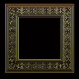дополнительный иллюстратор золота рамки формы eps самана включает иллюстрация штока