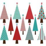 дополнительный иллюстратор формы eps собрания рождества самана включает вал Стоковые Фотографии RF