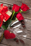 8 дополнительный ai как осмотр приветствию архива eps дня карточки предпосылки теперь над ожидающими решения сохраненными valenti Стоковая Фотография RF