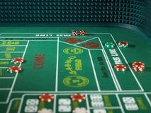 Оправляет игра казино Стоковые Изображения