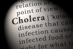 Определение холеры Стоковые Фото