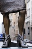 Определенная женщина статуи стоковые изображения rf