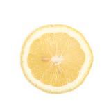 Определите кусок изолированного лимона Стоковое Изображение RF