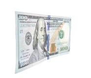 Определите 100 примечаний доллара Стоковая Фотография RF