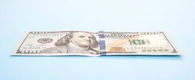 Определите 100 примечаний доллара Стоковое Изображение RF
