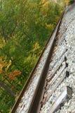 Опрокинутые следы стоковое фото