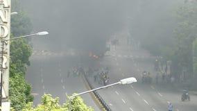 Опротестуйте для свободы в Венесуэле, против коммунизма, против социализма видеоматериал