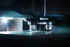 Оптическая машина для точного измерения Стоковые Изображения