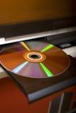оптический диск Стоковые Изображения RF