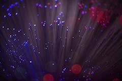 Оптический кабель в детали стоковое изображение rf